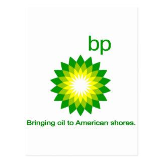 Bringing Oil To American Shores Postcard