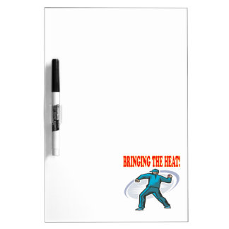 Bringing The Heat Dry-Erase Whiteboard
