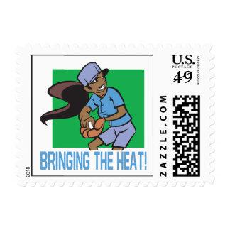 Bringing The Heat Postage