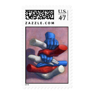 Bringing U.S. Together postage stamp