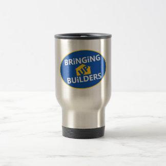 Bringing Up Builders - travel mug with handle