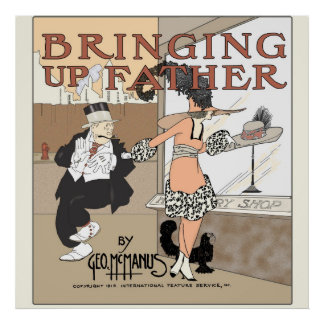 Bringing Up Father Series 3 Print