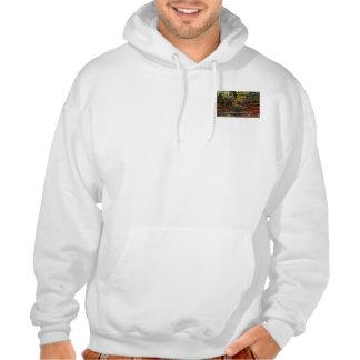 bringthepainposter, bringthepainposter hooded sweatshirts