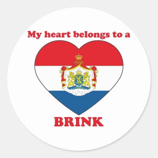 Brink Classic Round Sticker