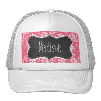 Brink Pink Paisley; Daisy Trucker Hat