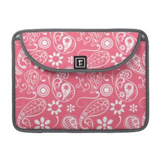 Brink Pink Paisley; Floral MacBook Pro Sleeve