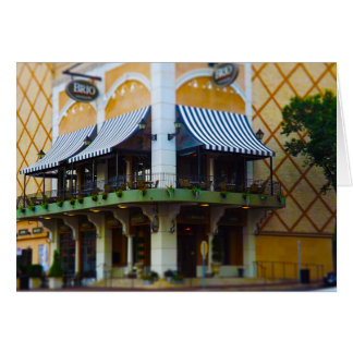 Brio Tuscan Grille Country Club Plaza Kansas City Greeting Card
