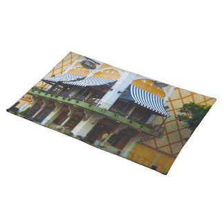 Brio Tuscan Grille Country Club Plaza Kansas City Cloth Placemat