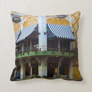 Brio Tuscan Grille Country Club Plaza Kansas City Throw Pillow