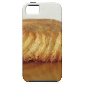 Brioche on a wooden table with granulated sugar iPhone SE/5/5s case