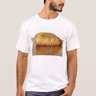 Brioche on a wooden table with granulated sugar T-Shirt