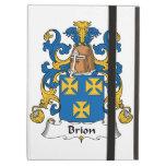 Brion Family Crest iPad Folio Cases