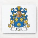 Brion Family Crest Mouse Pad
