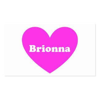 Brionna Plantilla De Tarjeta Personal