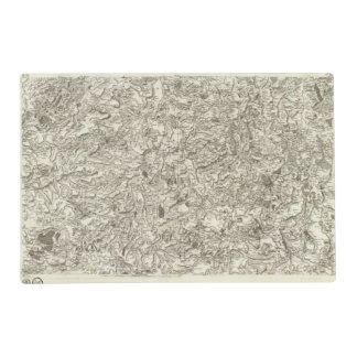 Brioude, Issoire Laminated Place Mat