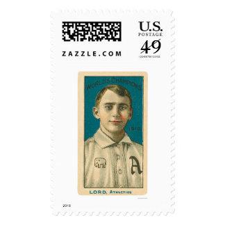 Bris Lord Baseball 1910 Stamps