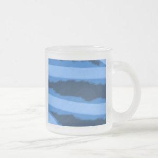 Brisa azul taza cristal mate