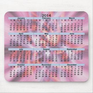 Brisa caliente Mousepad de 2014 calendarios Alfombrillas De Ratones