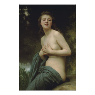 Brisa de la Bouguereau-Primavera de Guillermo-Adol Impresiones