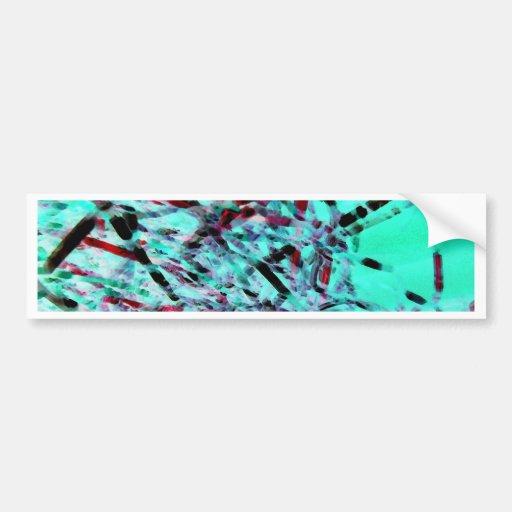 Brisa de la cinta etiqueta de parachoque