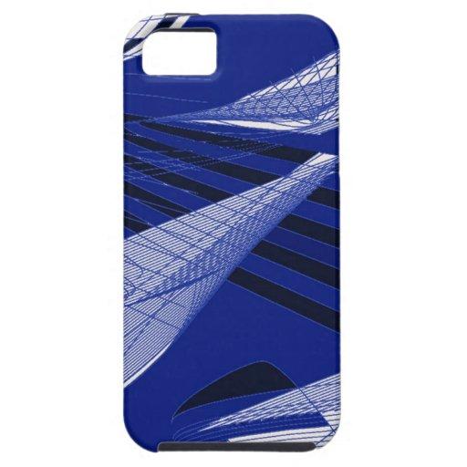 Brisa de mar del arte abstracto funda para iPhone SE/5/5s