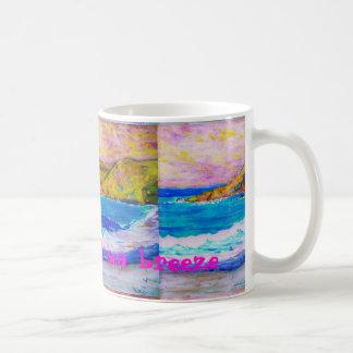 brisa de mar fragante tazas
