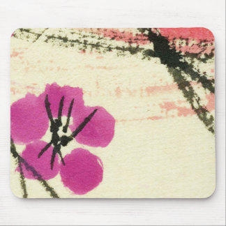 Brisa del flor alfombrilla de ratón