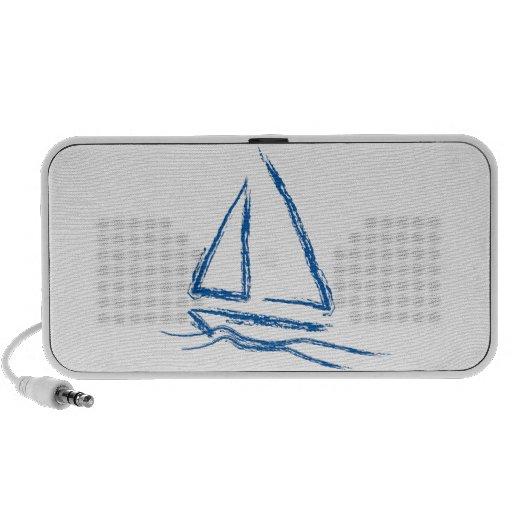Brisa del velero… laptop altavoces
