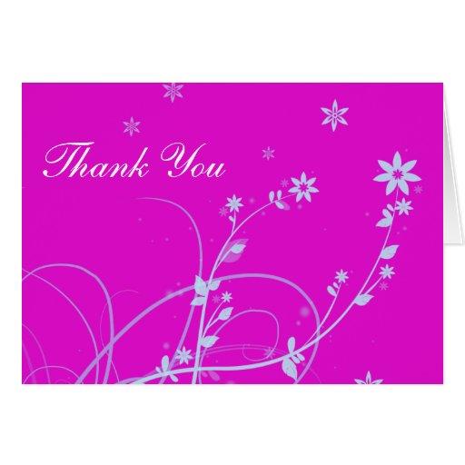 Brisa floral tarjeta de felicitación