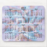 Brisa fresca Mousepad de 2014 calendarios Tapete De Raton