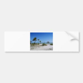 Brisas del golfo etiqueta de parachoque