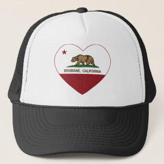 Brisbane California Republic Heart Trucker Hat