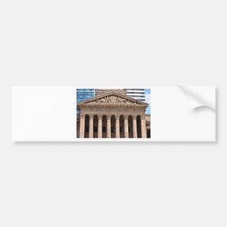 BRISBANE CITY HALL QUEENSLAND AUSTRALIA BUMPER STICKER