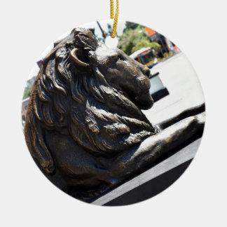 BRISBANE CITY LION KING GEORGE SQUARE AUSTRALIA CERAMIC ORNAMENT