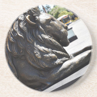 BRISBANE CITY LION KING GEORGE SQUARE AUSTRALIA SANDSTONE COASTER