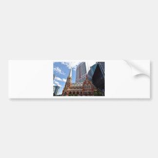 BRISBANE CITY QUEENSLAND AUSTRALIA BUMPER STICKER