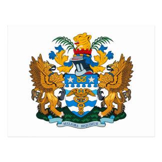 Brisbane Coat of Arms Postcard
