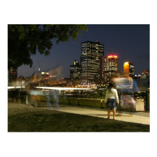 Brisbane del banco del sur, Australia Postales