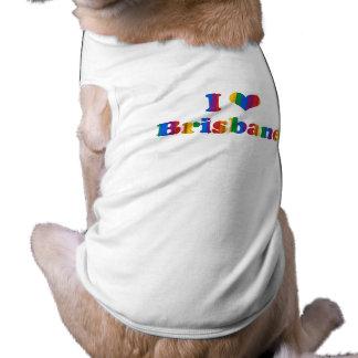 BRISBANE GAY PRIDE DOG T SHIRT