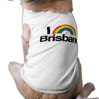 BRISBANE - I LOVE PRIDE -.png Pet T-shirt