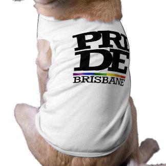 BRISBANE PRIDE -.png Doggie T-shirt