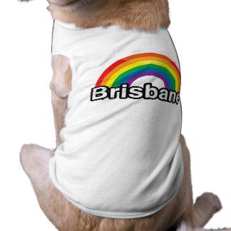 BRISBANE PRIDE RAINBOW -.png Dog Tee