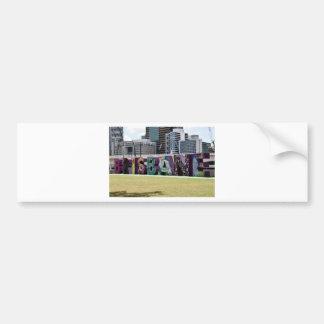 BRISBANE  SOUTHBANK QUEENSLAND AUSTRALIA BUMPER STICKER