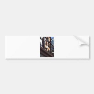BRISBANE TOWN CLOCK QUEENSLAND AUSTRALIA BUMPER STICKER