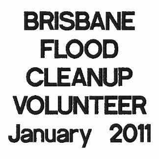 BRISBANEFLOOD CLEANUPVOLUNTEERJanuary 2011 Camiseta Polo