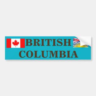 Brisitsh Columbia* Bumper Sticker Car Bumper Sticker
