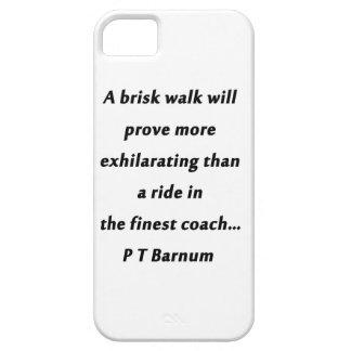 Brisk Walk - P T Barnum iPhone SE/5/5s Case