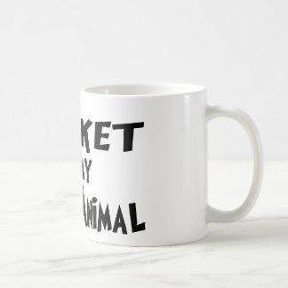 Brisket is my spirit animal classic white coffee mug