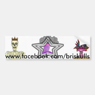 Briskull's sticker bumper stickers