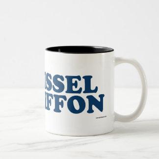 Brissel Chiffon Blue Two-Tone Coffee Mug